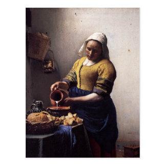 The Milkmaid Postcard
