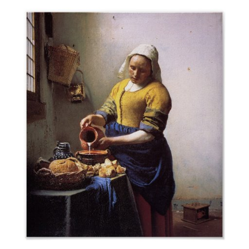 The Milkmaid Print