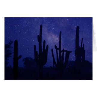 The Milky Way Rises over Tucson Card