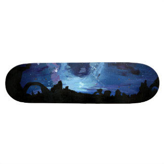 The Milky Way Skateboard