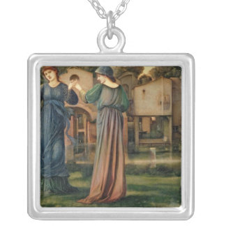 The Mill, 1872-80 Silver Plated Necklace
