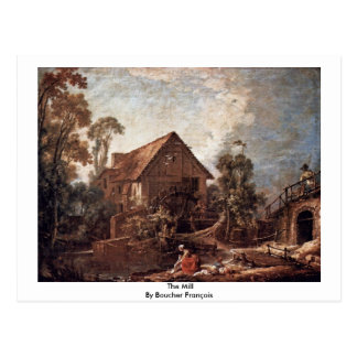 The Mill By Boucher François Post Card