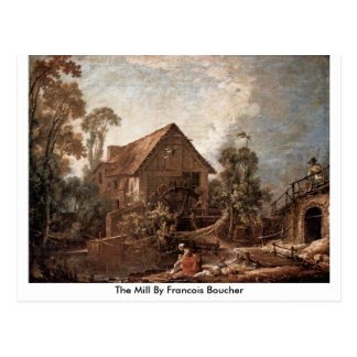 The Mill By Francois Boucher Postcard