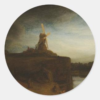 The Mill Classic Round Sticker