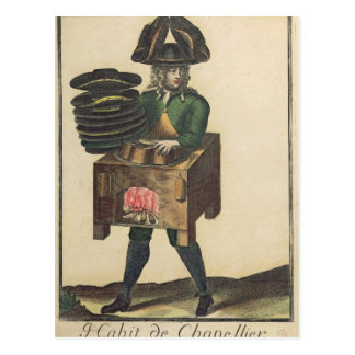The Milliner's Costume Postcard