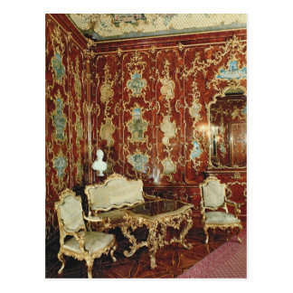 The Millionen Room panelled with fig wood inlaid Postcard