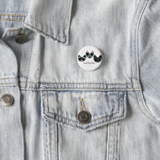 The Minimal Kitty Cat Ladies 3 Cm Round Badge