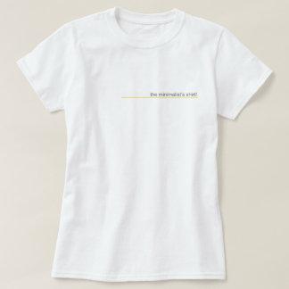 The minimalist's shirt