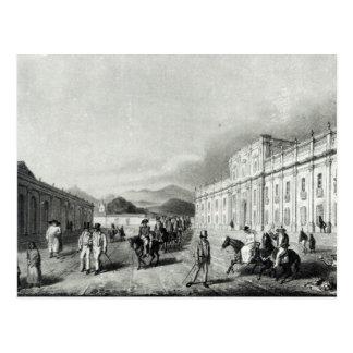 The Mint of Santiago Postcard