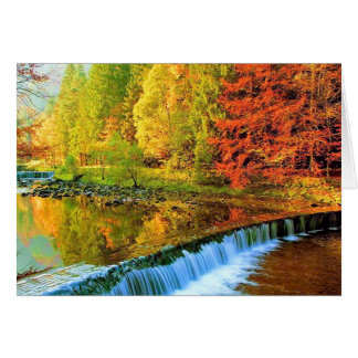 THE MIRACLE OF AUTUMN CARD
