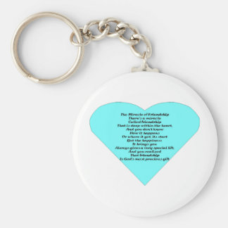 The Miracle of Friendship Key Ring