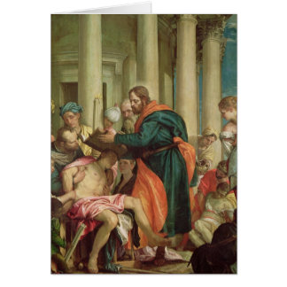 The Miracle of St. Barnabas, c.1566 Card