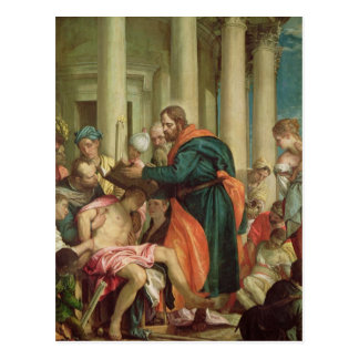 The Miracle of St. Barnabas, c.1566 Postcard