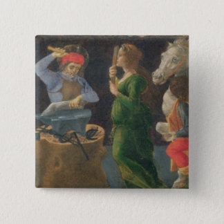 The Miracle of St. Eligius, predella panel from th 15 Cm Square Badge