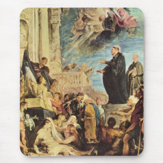 The Miracle of St. Francis Xavier by Paul Rubens Mousepad