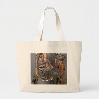 The Miracle of the Palm Tree on the Flight Egypt Large Tote Bag