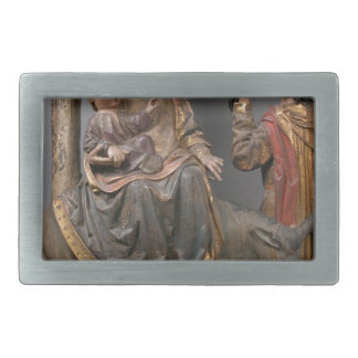 The Miracle of the Palm Tree on the Flight Egypt Rectangular Belt Buckle