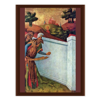 The Miracle Wall By Meister Francke (Best Quality) Postcard