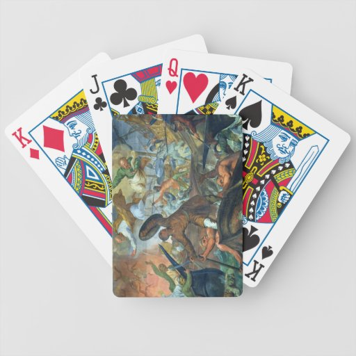 The Miraculous Intervention of SS Peter and Paul i Card Decks