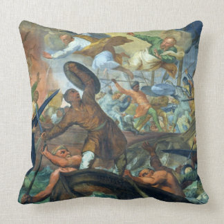 The Miraculous Intervention of SS Peter and Paul i Throw Cushion