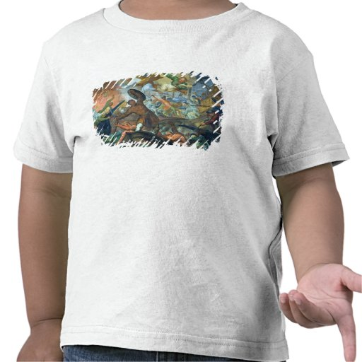 The Miraculous Intervention of SS Peter and Paul i Tee Shirt
