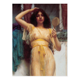 The Mirror Fine Art Postcard