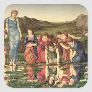 The Mirror of Venus, 1870-76 (oil on canvas) Stickers