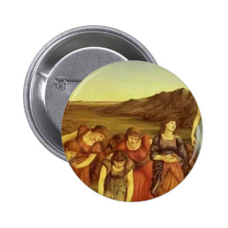 The Mirror of Venus by Edward Burne-Jones Buttons