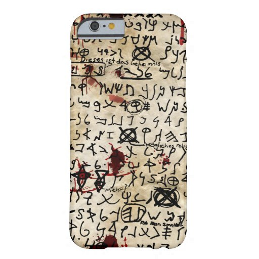 The Missing Page - Necronomicon iPhone 6 Case