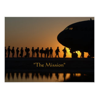 The Mission Military Soldiers Poster