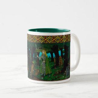 The Mistletoe King, Mistletoe Lance (elf) Two-Tone Coffee Mug