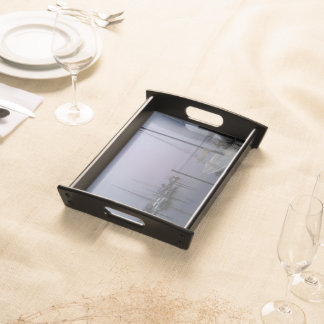 The Misty Bay Serving Tray