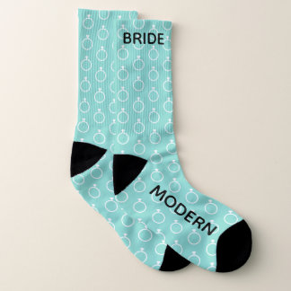 The Modern Bride Wedding Bridal Party Socks
