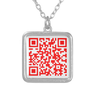 The Modern Business Card Necklace