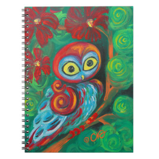 The Modern Painting Owl Notebooks
