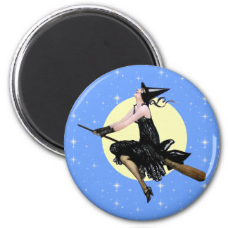 The Modern Witch Magnet