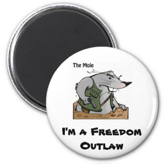 The Mole Outlaw Magnet