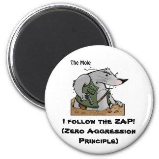 The Mole ZAP Magnet