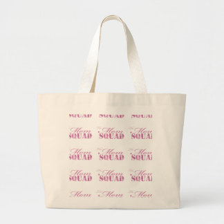 The Mom Squad Selection Large Tote Bag