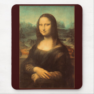 The Mona Lisa by Leonardo da Vinci Mouse Pad