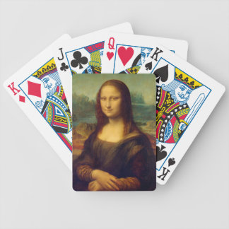 The Mona Lisa By Leonardo Da Vinci Poker Deck