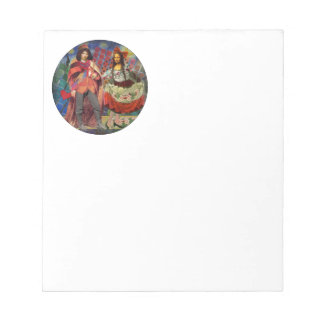 The Mona Lisa in Love Notepad