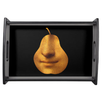 The Mona Lisa's Smile - Serving Tray