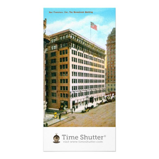 The Monadnock Building Personalized Photo Card