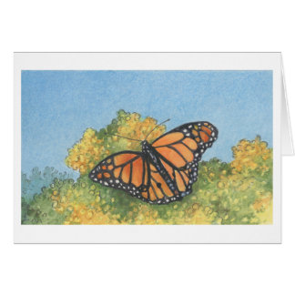 The Monarch Butterfly Note Card