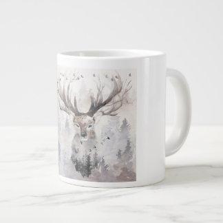 The Monarch of the Glen Large Coffee Mug