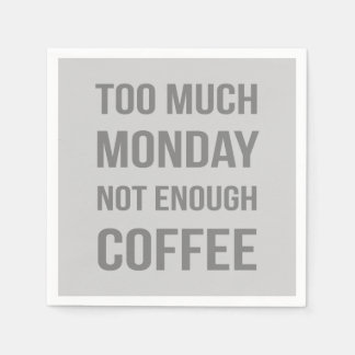The Monday Quote Disposable Napkin