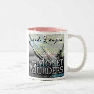The Monet Murders mug (audio book cover art)