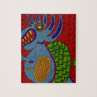 The Money Snail Jigsaw Puzzle