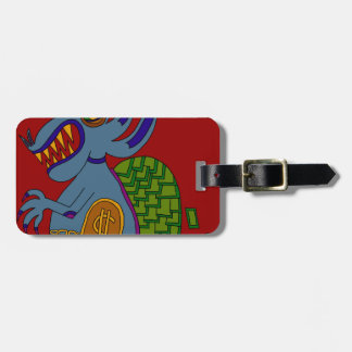 The Money Snail Luggage Tag